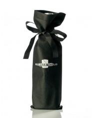 Bolsa de tela con botella - CAJA DE 12 BOLSAS