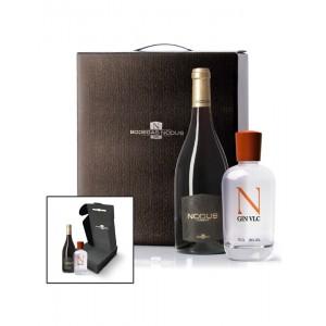 Estuche vino y ginebra Nodus